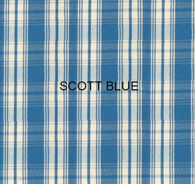 Kussens Scott Blue