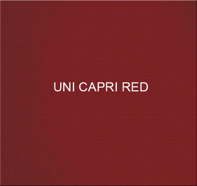 Stof Uni Capri Red