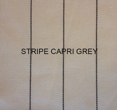 Stof Stripe Capri grey