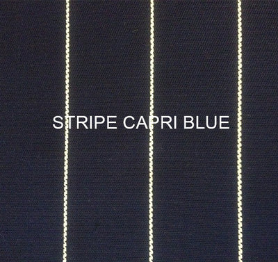 Stof Stripe Capri blue