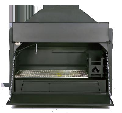 Afrikaanse Braai - Supréme de Luxe 800 (inbouw)