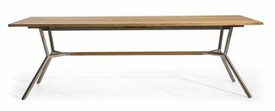 Oasiq Reef Table 240 x 100 cm (RVS / Teak)