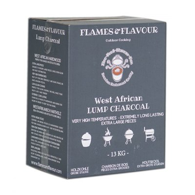 Flames & Flavour West-Afrikaans Hardhout Restaurant Houtskool 13KG