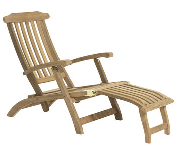 ligstoel imperial deckchair teak garden. Black Bedroom Furniture Sets. Home Design Ideas