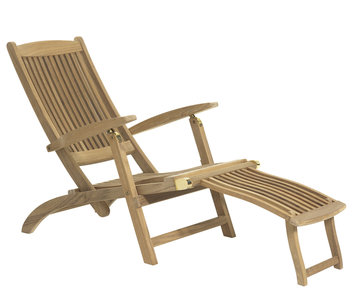 richmond deckchair teak garden. Black Bedroom Furniture Sets. Home Design Ideas